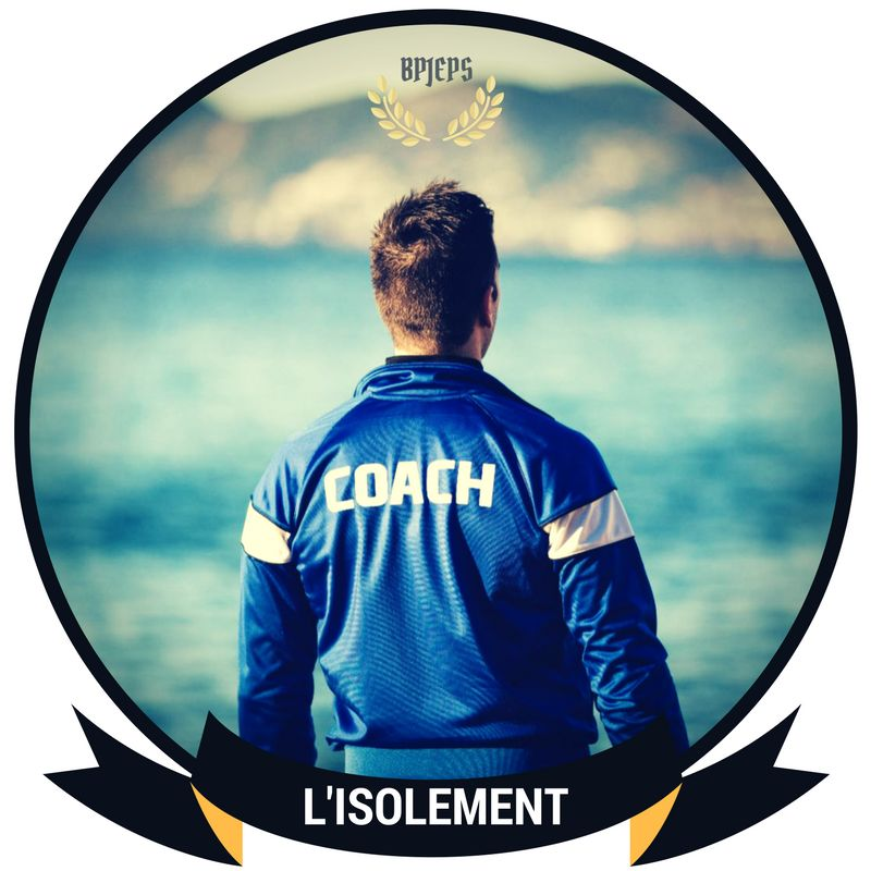 isolement bpjeps coach sportif Frederic Balussaud