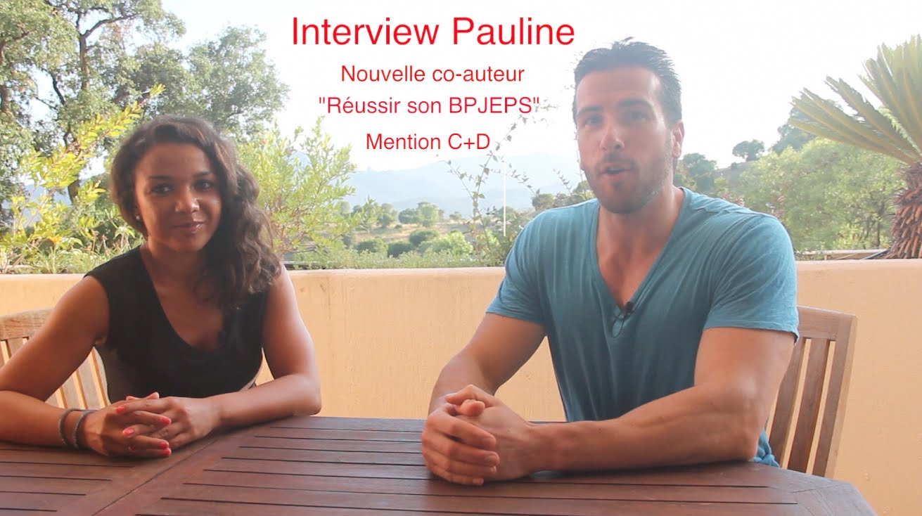 Pauline, nouvelle co-auteur BPJEPS AGFF mention C