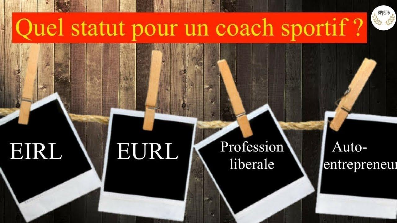 Quel statut choisir en tant que coach sportif ?