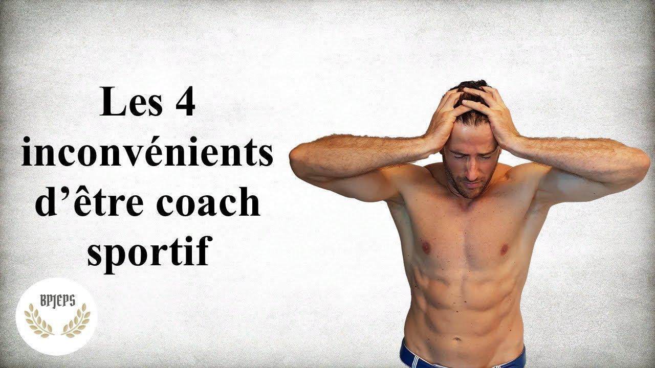 4 inconvénients d'être coach sportif