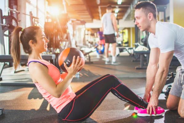 Lieu travail salle gagnent coach sportif fitness bpjeps