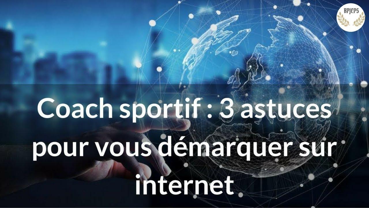 Coachs sportifs : 3 astuces pour vous démarquer sur internet