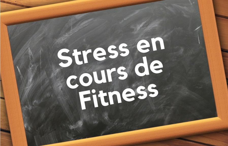stress fitness prof cours bpjeps af activites forme