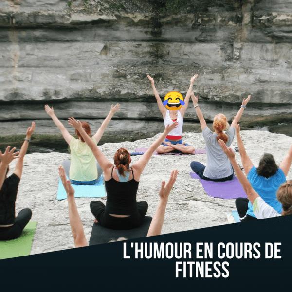 7 manières de faire de l'humour en cours de Fitness