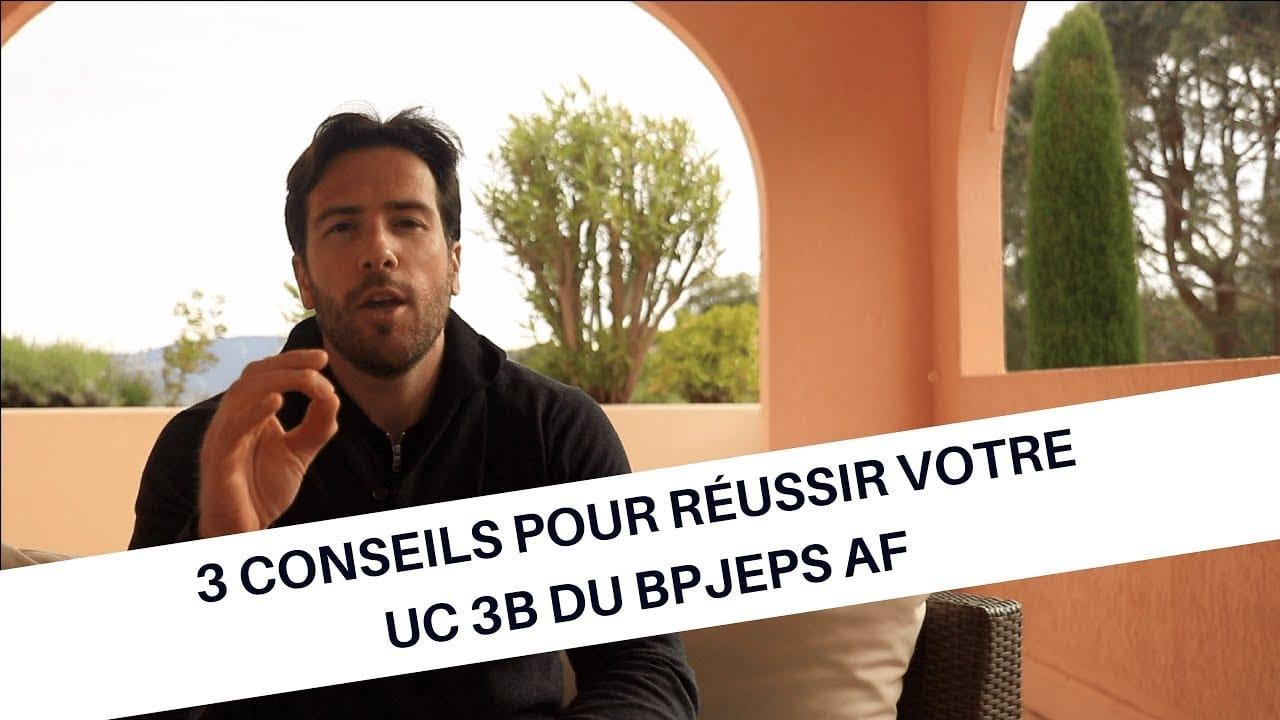 3 conseils pour réussir votre UC 3B du BPJEPS AF