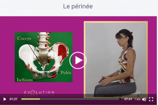 Magali Théry a conçu une formation Pilates en ligne qui prévoit la protection du périnée.