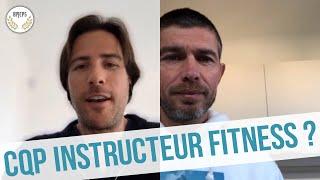 CQP Instructeur Fitness : interview d'un des créateurs