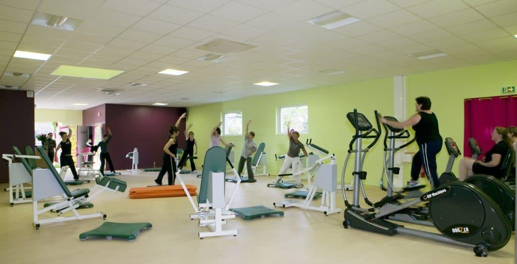 Commencer un CQP ALS fitness en animant un circuit training est très confortable.
