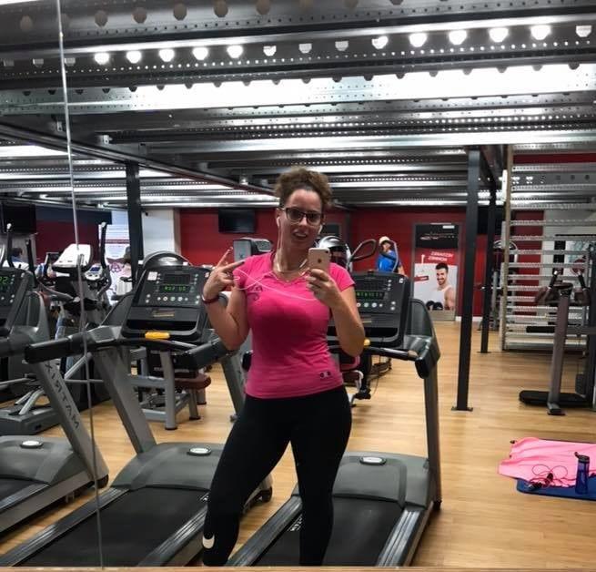 Mon entrainement sportif sur le plateau de musculation et de cardio-training.