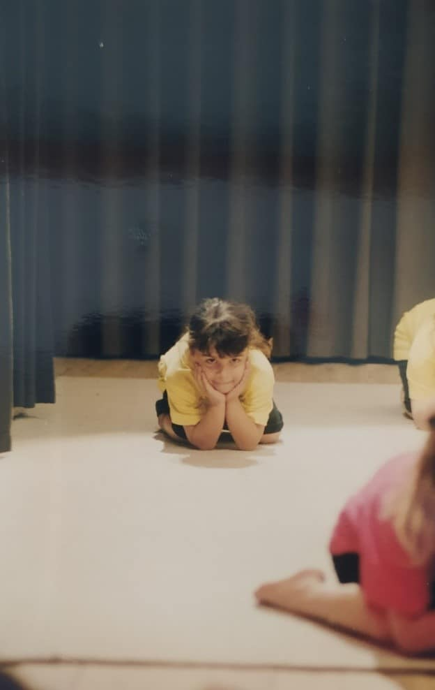 Camilia Courtois, passionnée par la danse avant d'être passionnée par le coaching sportif.