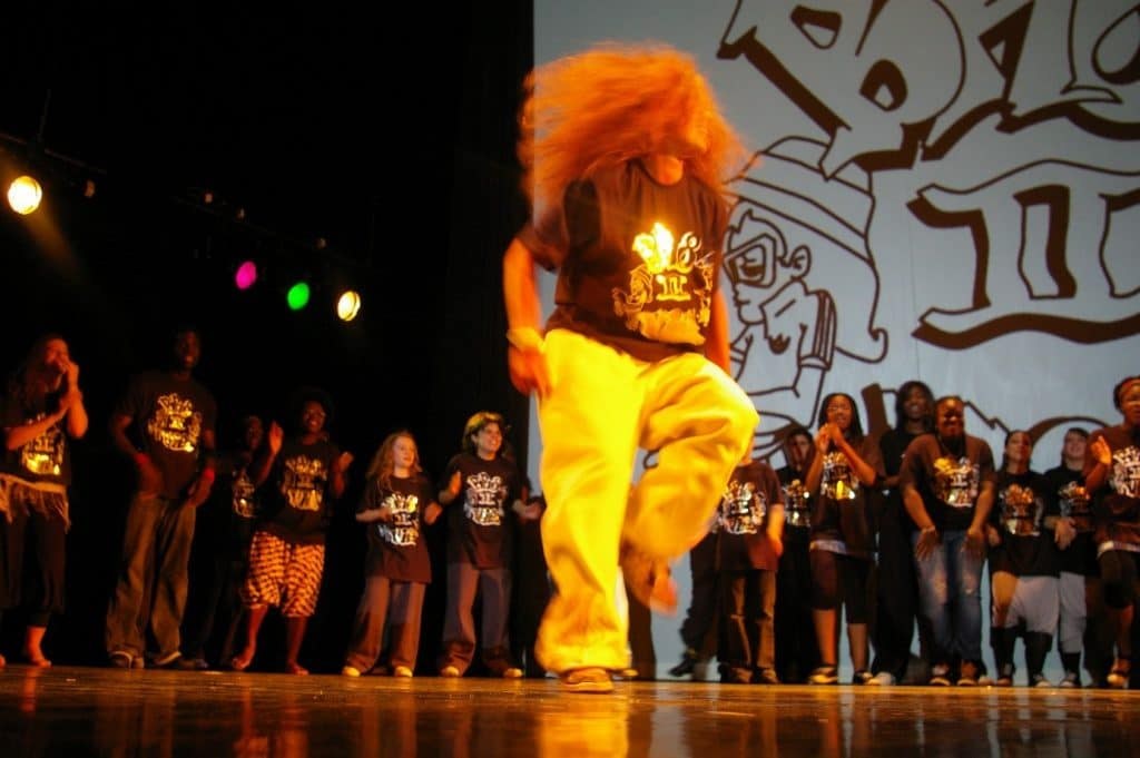 Avec son association de Hiphop, Camilia Courtois, coach sportif BPJEPS AF, exprimait sa propre vision de la danse.