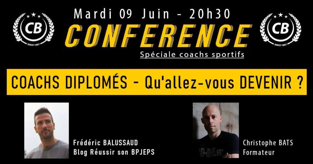 Frédéric Balussaud, créateur du blog Réussir son BPJEPS, est interviewé par Christophe Bats sur l'avenir des coachs sportifs du fitness dans le contexte de la crise sanitaire.