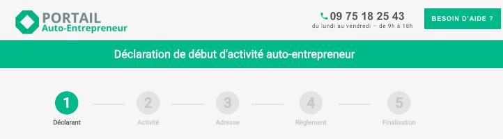 Les étapes pour une création d'un statut d'autoentrepreneur chez le Portail AutoEntrepreneur